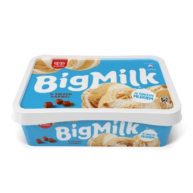 BIG MILK O smaku karmel 6x900ml
